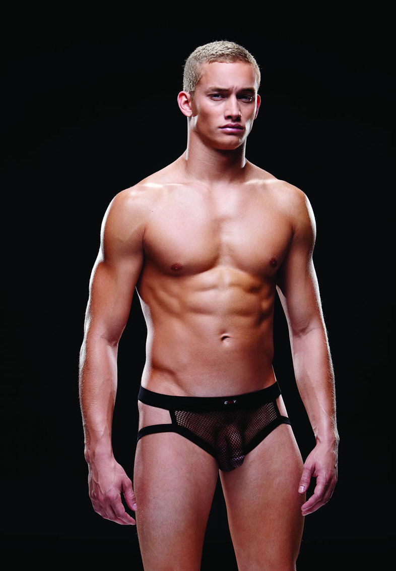 Fishnet Sport Jock L/xl Black