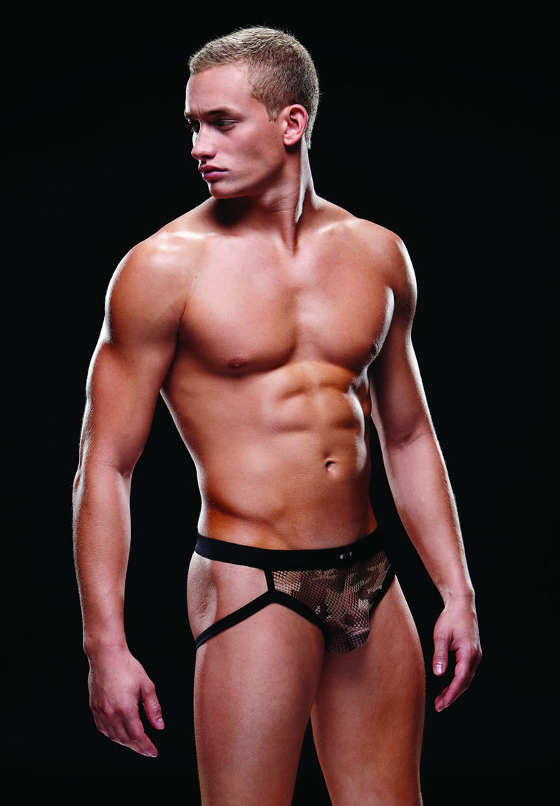 Fishnet Sport Jock L/xl Camo (disc)
