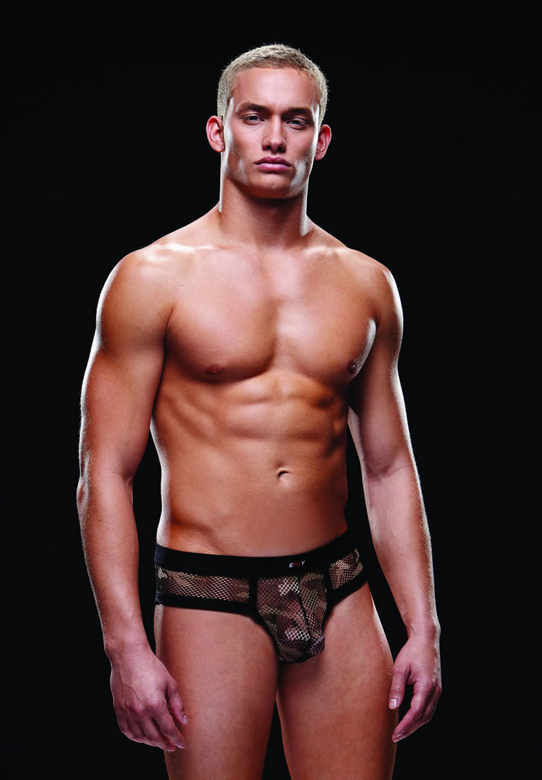 Fishnet Sport Brief L/xl Camo (disc)