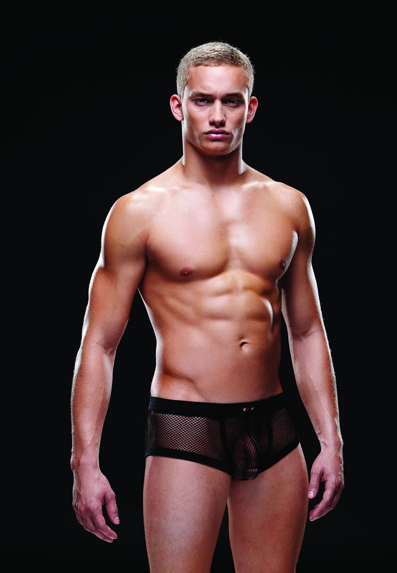 Fishnet Sport Trunk L/xl Black