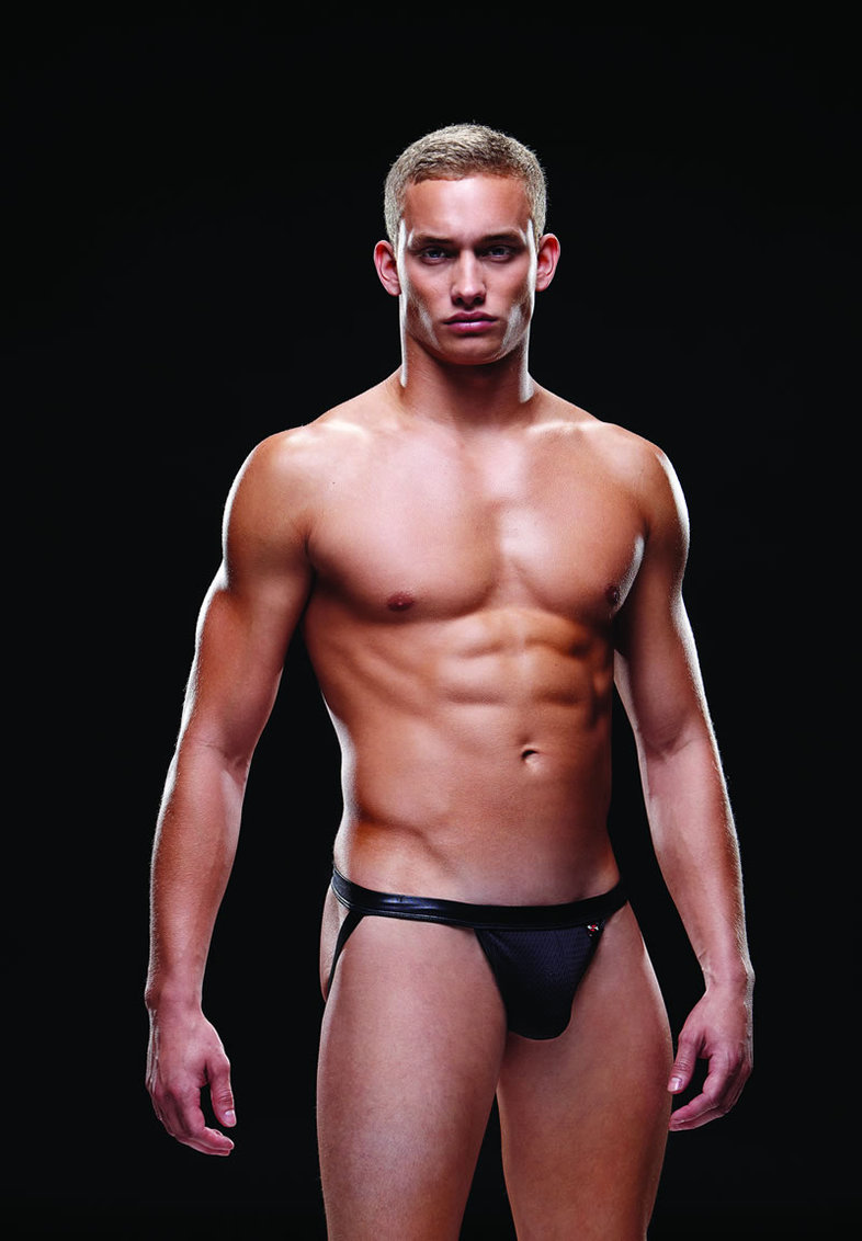 Wetlook Bareback Athl Jock L/xl B (disc)