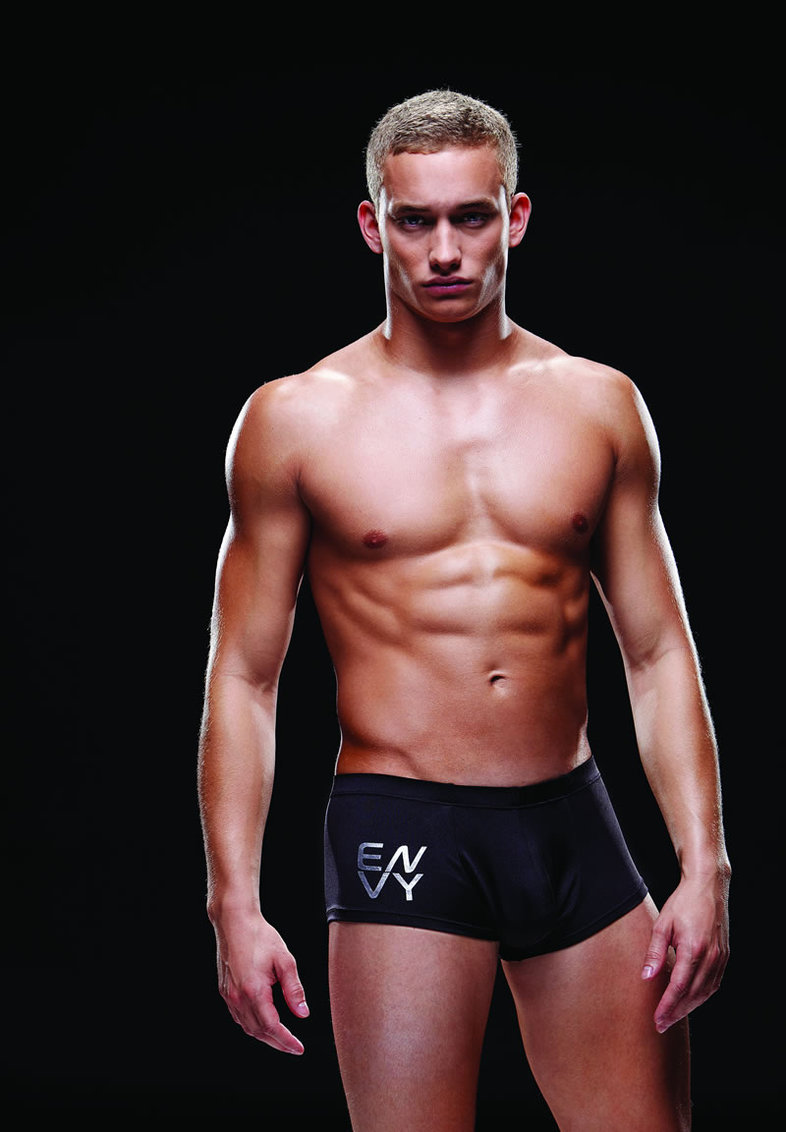 Logo Sport Trunk M/l Black (disc)